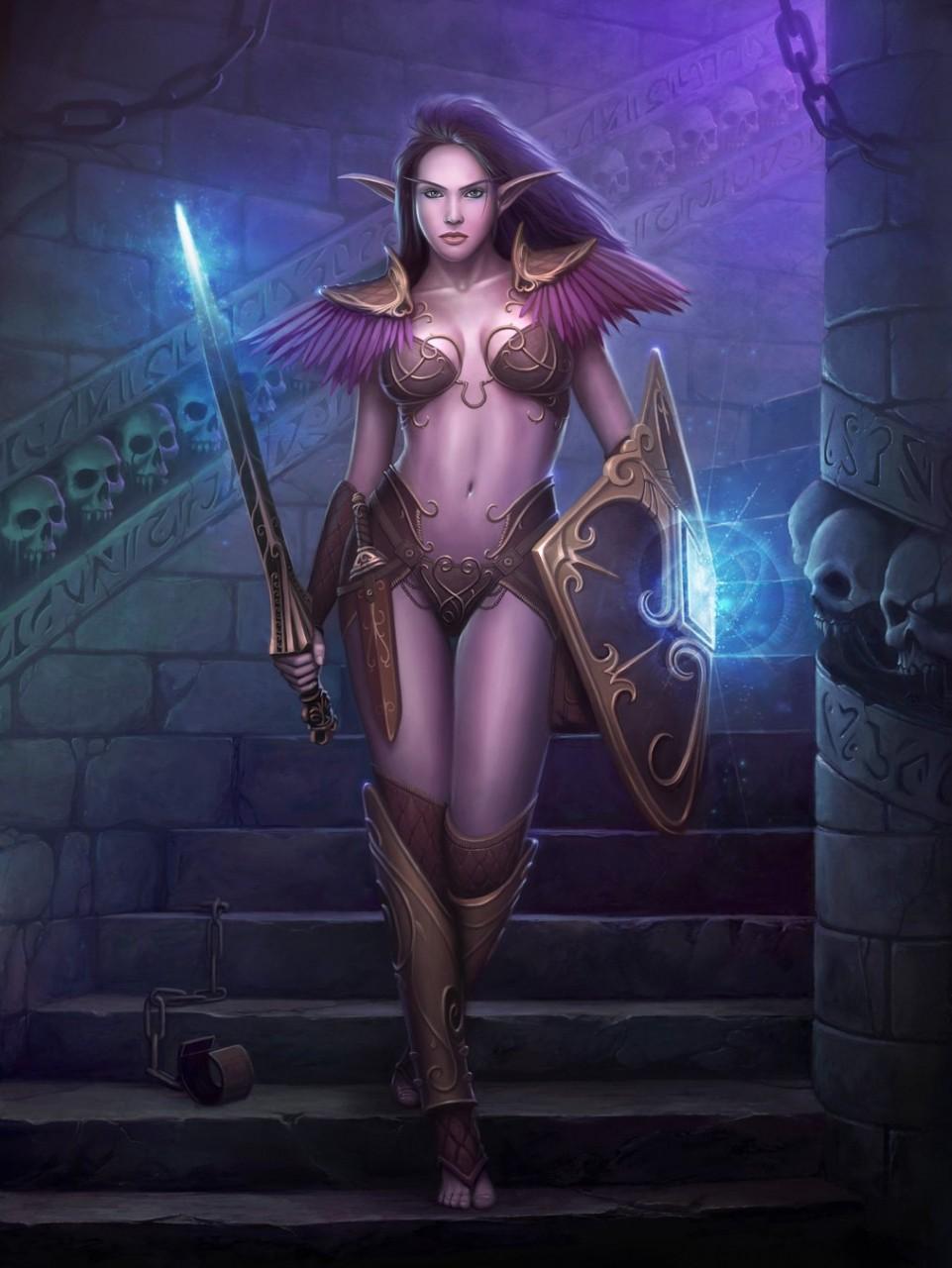 Beautful elves warcraft naked scene