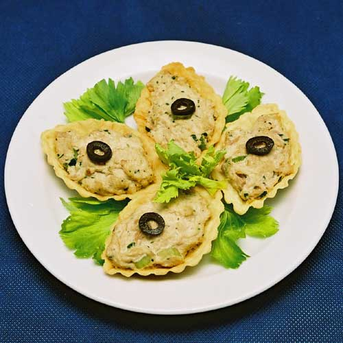 Рецепт тарталеток из тунца