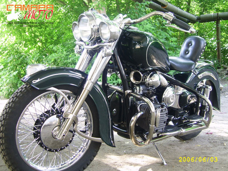 Например совкоцикл или современный китайский мотоцикл