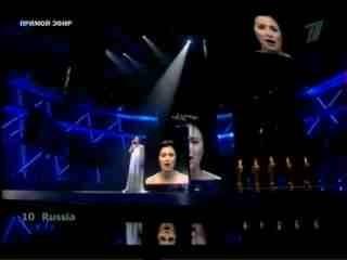 Настя Приходько Мамо  Евровидение 2009 Финал