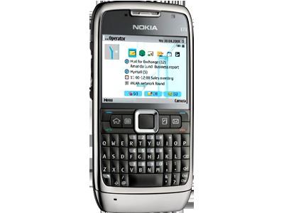 Смартфон Nokia E71 Nokia Е71 - сочетание эффективной работы и эффективного отдыха, воплощенное в превосходном дизайне.