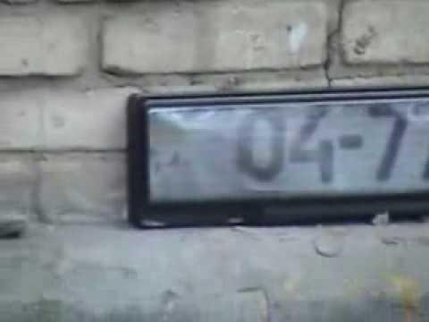 Накладка-линза на номера - от камер ГАИ!