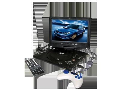 DVD-плеер Phantom PDVD-901FM Уникальный система Phantom PDVD-901FM это целый комплекс дополнительных возможностей! Наличие встроенного телевизионного тюнера, встроенного аккумулятора и игровой приставки, встроенного FM-трансмиттера!