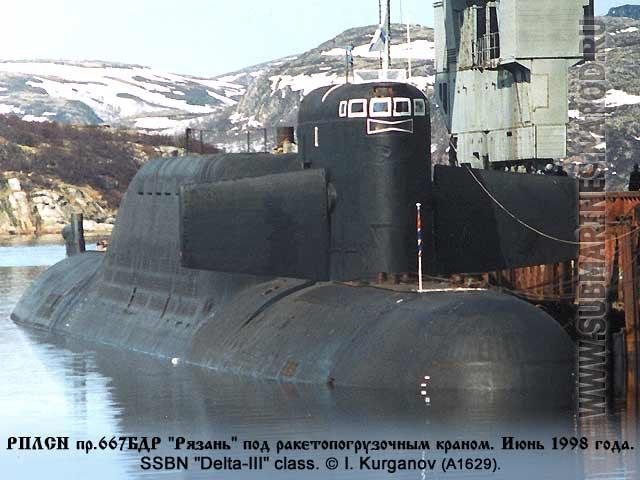 места базирования подводных лодок