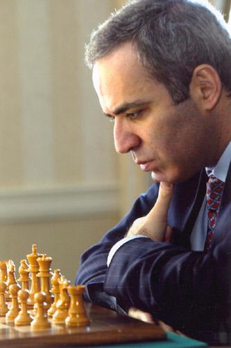 13-й чемпион мира по шахматам Каспа́ров Га́рри Ки́мович