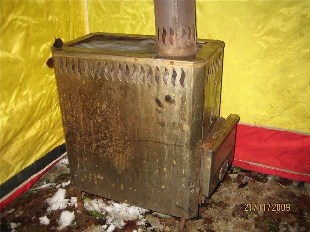 Печка для полевой бани своими руками 75