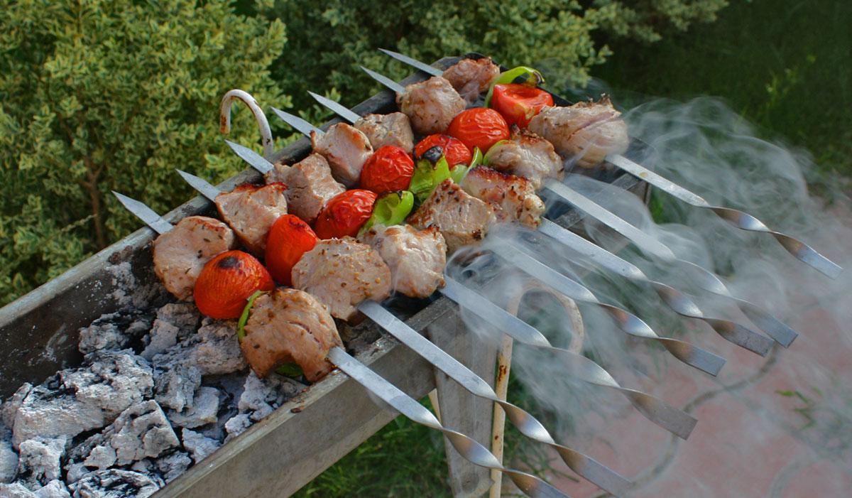 Шашлык из свининыы с пошаговым фото