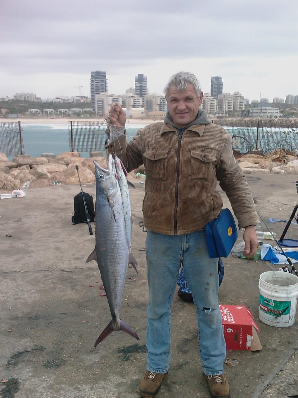 рыбалка на катере в израиле