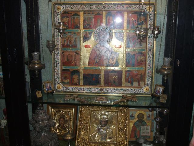 Иконы Николая Чудотворца, хранящиеся на его мощах...(Италия)