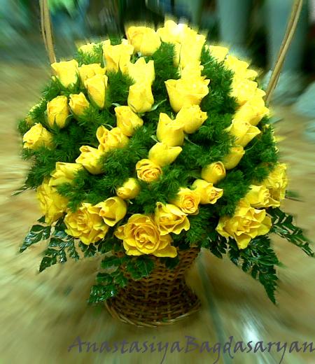 Букет из срезанных цветов