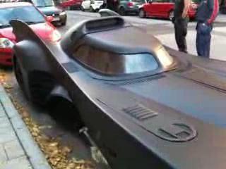 Автомобиль Бэтмена был замечен на улицах Швеции
