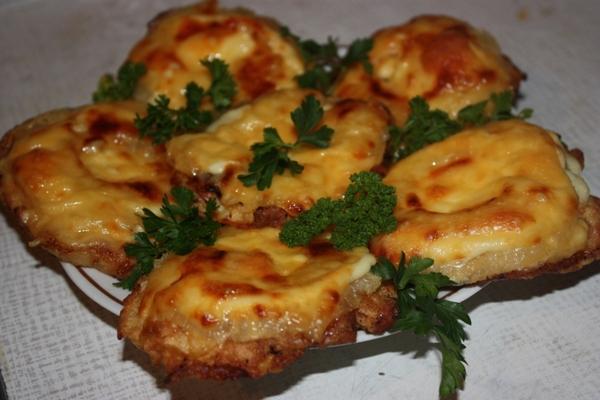 Рецепты куриного филе с ананасами в духовке