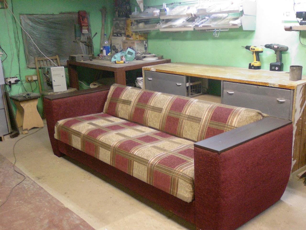 Переделать советский диван своими руками
