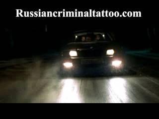 Пацанские тачки ВАЗ 2109 и чёрная BMW