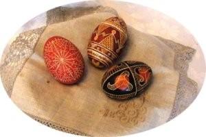 Славянская писанка (пасхальные яйца)