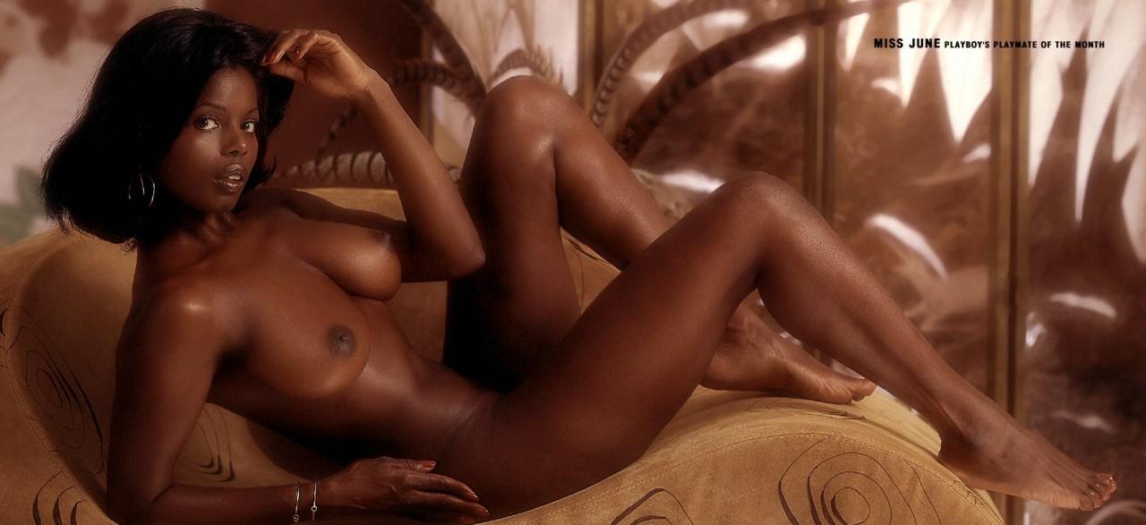 фото голых моделей негритянок
