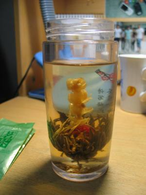 Ланьчжоу. Китайский чай. Цветок.