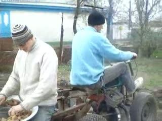 Революционная посадка картошки