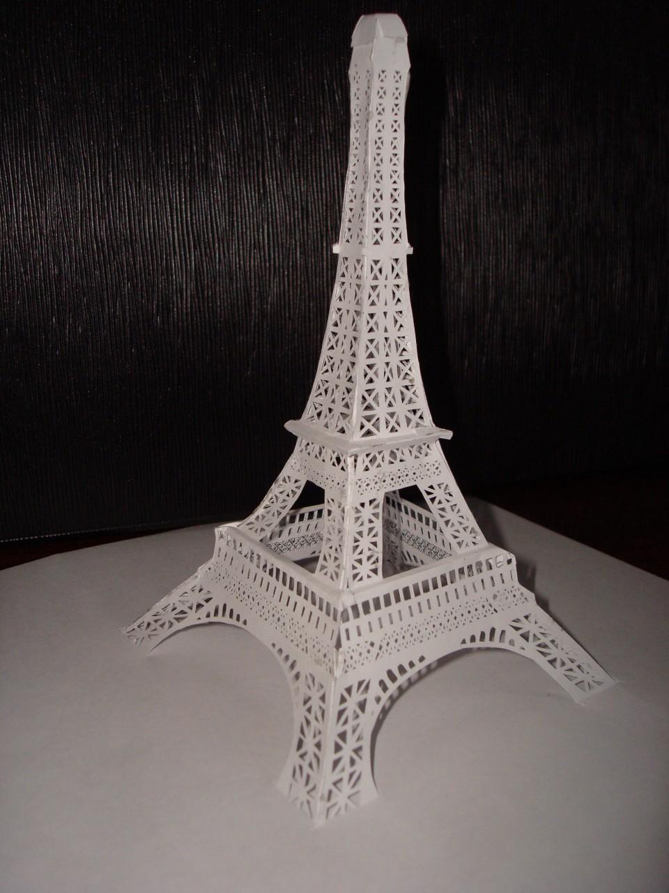 Эльфивая башня из бумаги своими руками 95