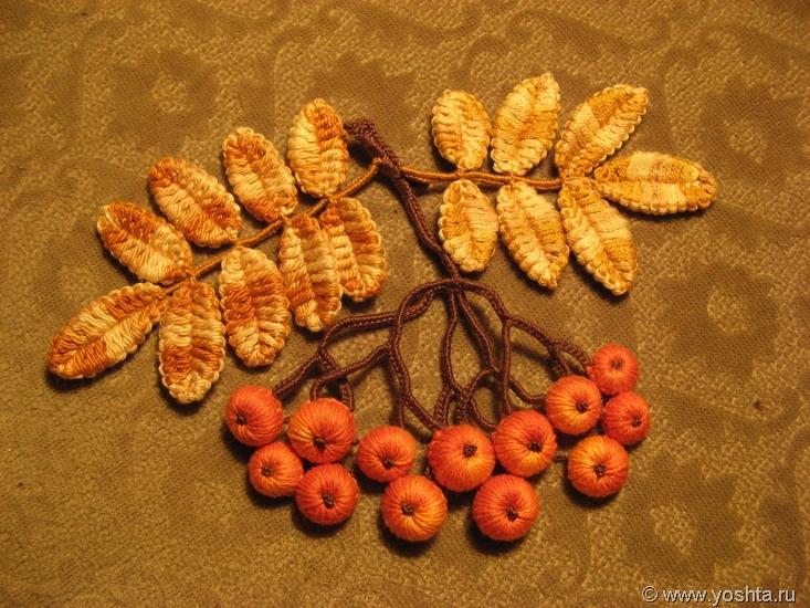 Вязание крючок осень