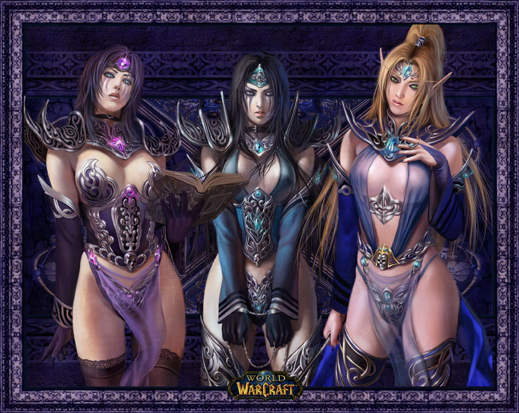 Wow blood elf female hot wallpaper sex pussy