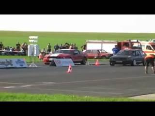 Golf 2 VR6 Bi-turbo VS Ford Mustang GT 500