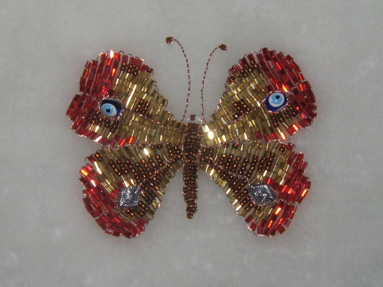 Бабочка из паеток своими руками