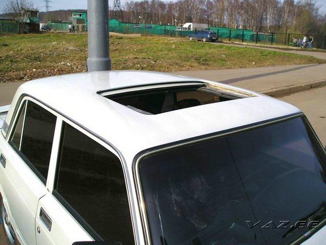 Люк на крышу авто своими руками