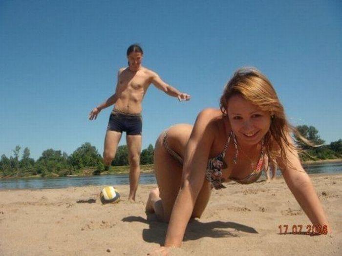 фото на пляже голяком