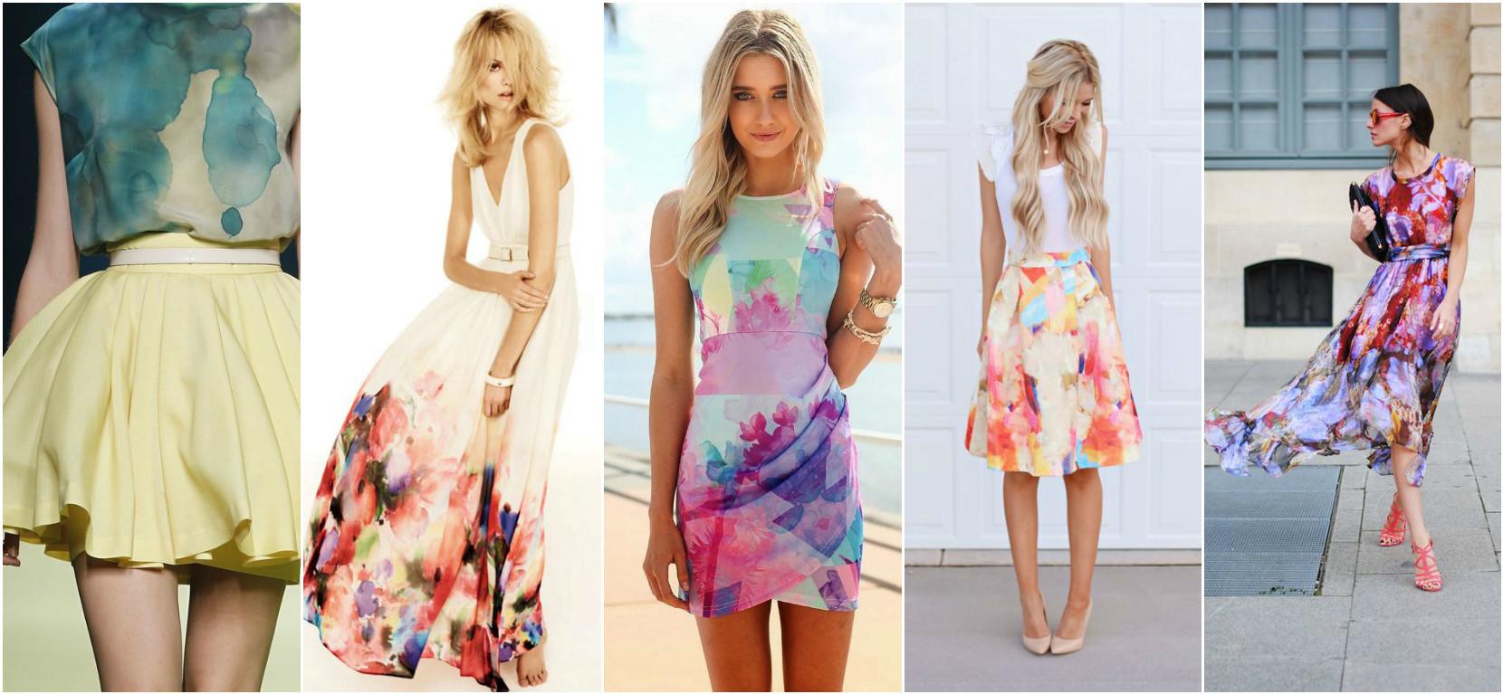 Модные платья 2017 на лето
