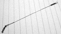 Жесткий поводок из струны