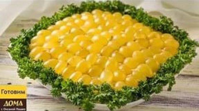 Необыкновенно красивый салат «Тиффани»