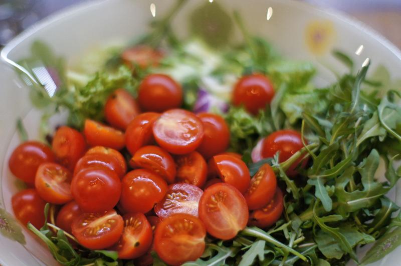 Помидоры салаты рецепты с
