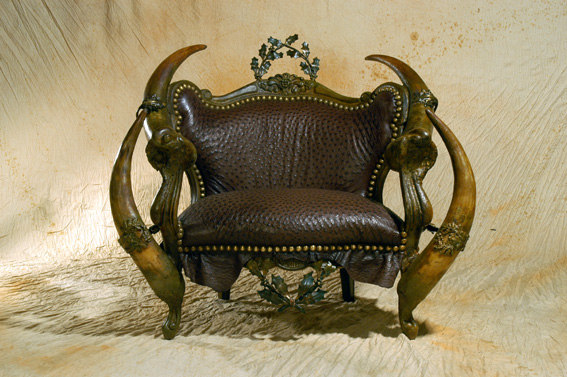 Мебель как произведение искусства. Великий и ужасный Michel Haillard