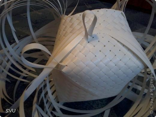 Мастер-класс Плетение Плетение корзинки из упаковочной полипропиленовой стреппинг ленты Полиэтилен фото 22