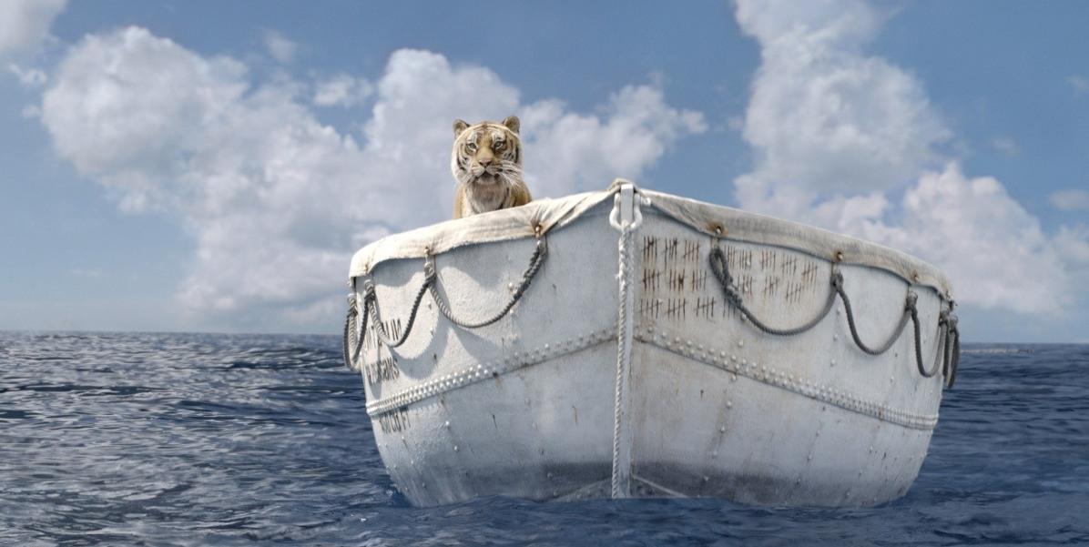 фильм где мальчик плыл в лодке с тигром фильм