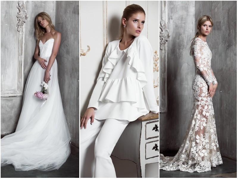 Yulia Prokhorova. Beloe Zoloto Wedding Demi Couture осень-зима 2017-2018