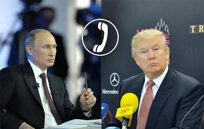 Путин и Трамп обсудили урегулирование кризиса на Корейском полуострове