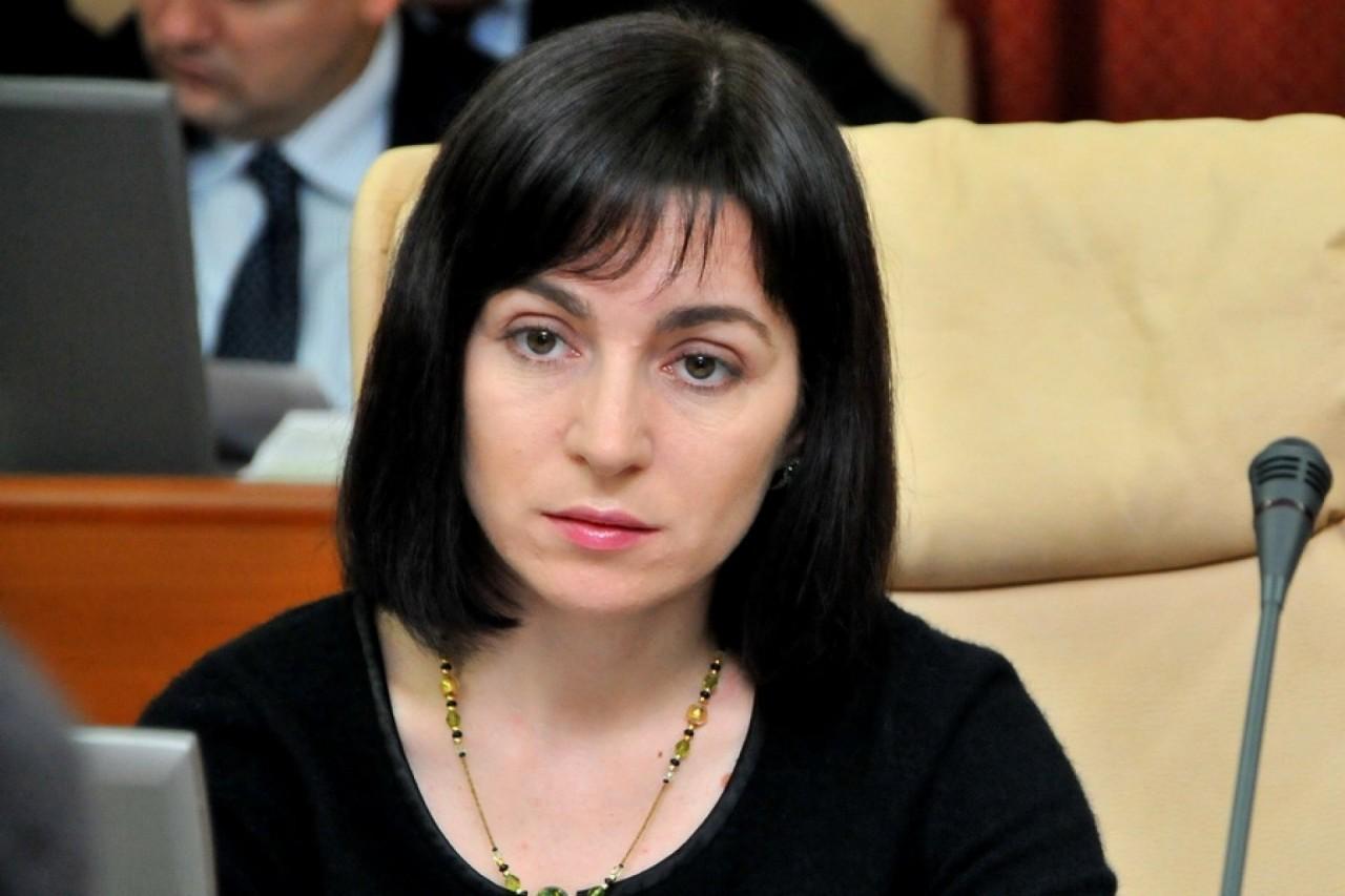 Майя Санду приглашает Михаила Саакашвили на борьбу с молдавской коррупцией