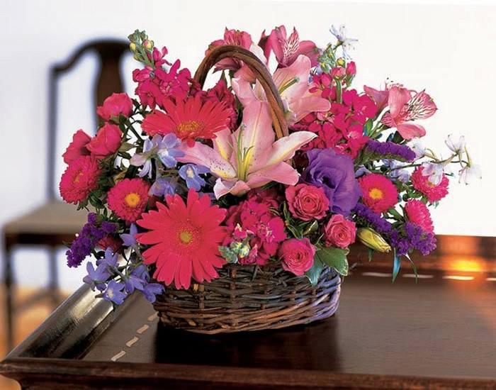 Украшаем дом цветами