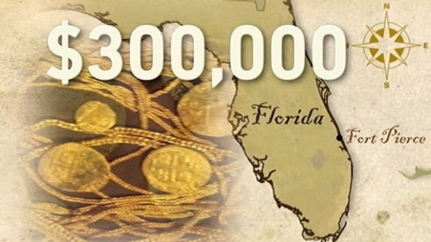 Семья из Флориды нашла на побережье золото на $300 000