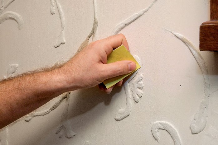 Объёмные узоры на стенах. Делаем сами