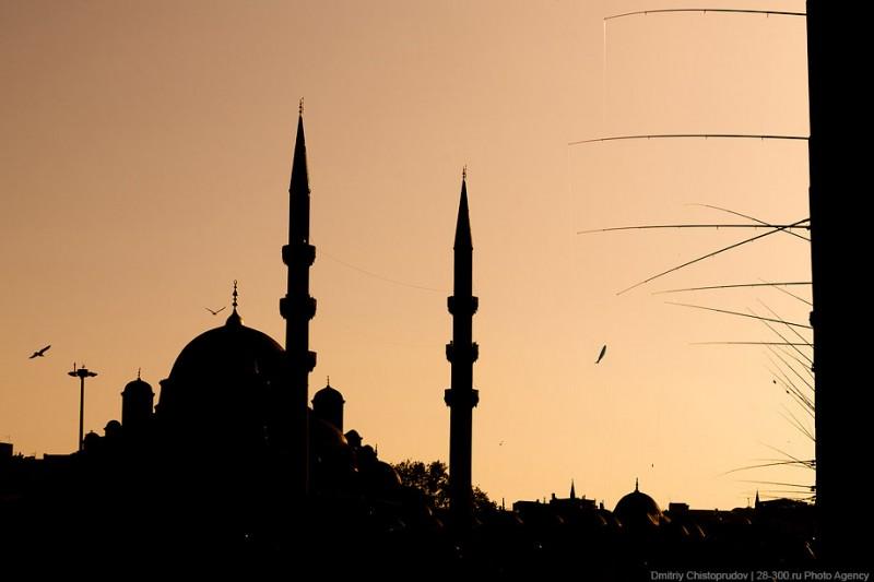 Стамбул: рыбаки истарые рынки