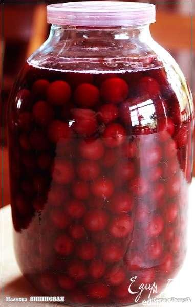 Как сделать наливку из вишни на спирту