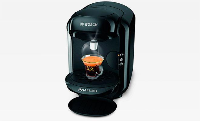 Разнообразие напитков нажатием всего одной кнопки с кофемашиной TASSIMO VIVY II