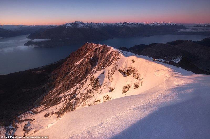 Гора Бен Ломонд в Куинстауне, Новая Зеландия в мире, красивые фото, красивый вид, пейзажи, природа, путешествия, фото, фотографы