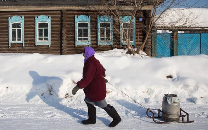 Выбор русской деревни: спить…