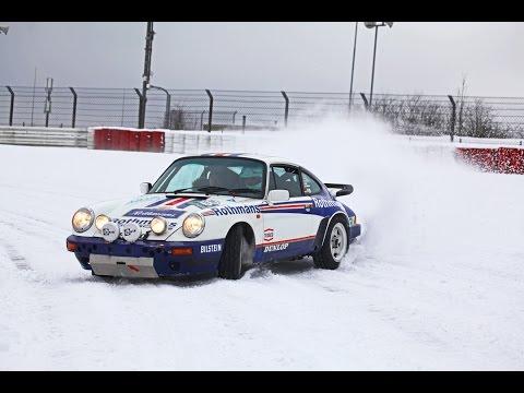 Классический раллийный Porsche, мороз и Нюрбургринг