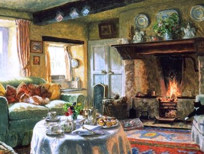 То, что нужно зимой --10 уютных картин, в которые так и хочется закутаться