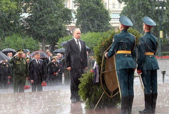 «Мокрое» дело: почему над Путиным не раскрылся зонт